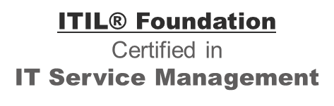 ITIL Foundation Certified in IT Service Management